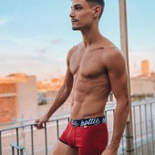 HottiMenswear Boxer Briefs now available at reduced prices only online. Get yours now!  Model: @juliohoney  #menswear #boxershorts #underwear #boxer #instafashion #sale