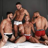 Hottie Menswear Boxers & Briefs. Only available online - get yours now!  HottieMenswear.com  #menswear #briefs #boxers #underwear