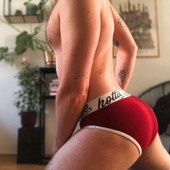 Morning workout with @scandi_unicorn and our Original Hottie Menswear Briefs!  #morning #morningmotivation #workout #briefs #hottie #menswear